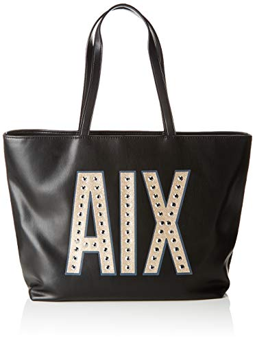 Donna Nero 942426 shopping borsa Armani Exchange Borsa 8a270 TvOwYv7qZ