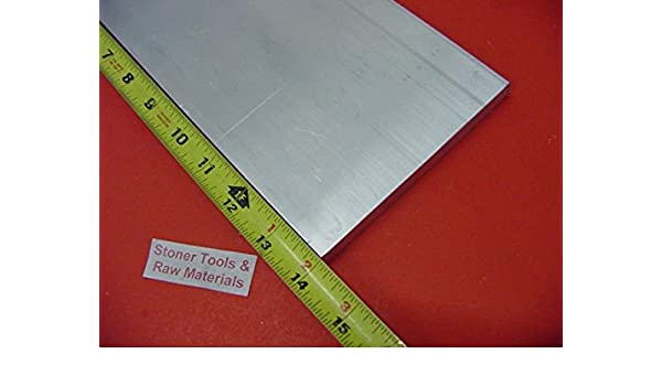 "3 Pieces 1//4/"" X 6/"" ALUMINUM 6061 T6511 SOLID FLAT BAR 14/"" long .250/"" Plate"