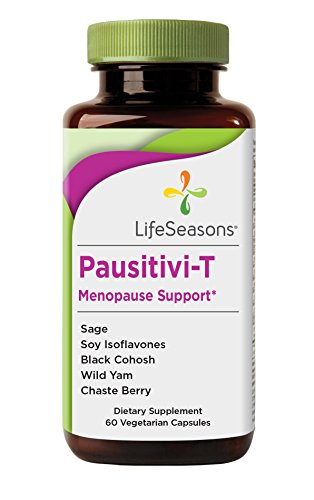 LifeSeasons Pausitivi-T Menopause Support - Natural Menopause Supplement (90 Capsules)