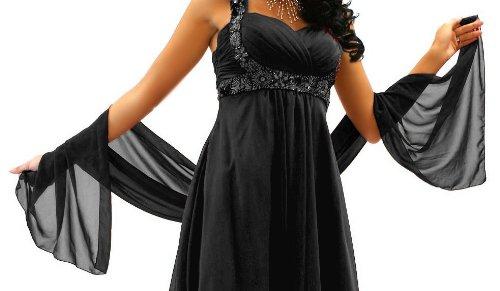 Stola zum schwarzen abendkleid