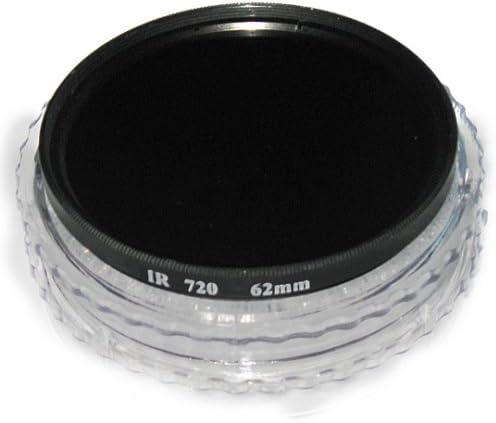 Albinar 62mm Infrared 720nm Digital Pro Glass IR X-Ray Camera Lens Filter