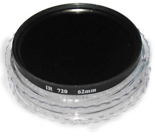 Albinar 62mm Infrared 720nm Digital Pro Glass IR X-Ray Camera Lens Filter