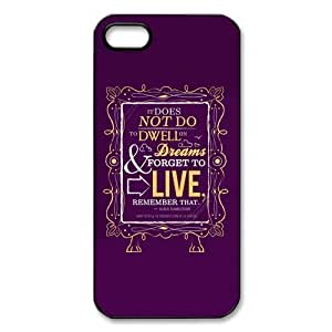 Customized iPhone Case Harry Potter Purple Style Printed Durable Hard iPhone 5 5S Case Cover Kimberly Kurzendoerfer