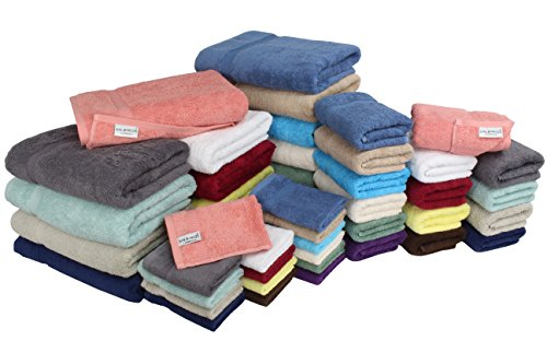 SALBAKOS Bath Towels Sets Luxury Hotel and Spa Quality Collection