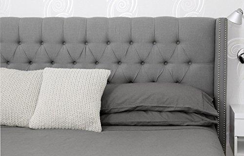 Oasis Fine Linens Vintage Washed Linen Collection (King, - Belgian Linen
