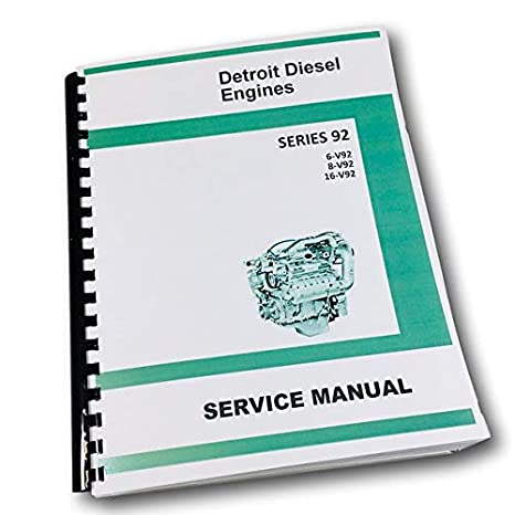 Amazon com: Gm Detroit Diesel Series 92 V92 6V92 8V92 16V92