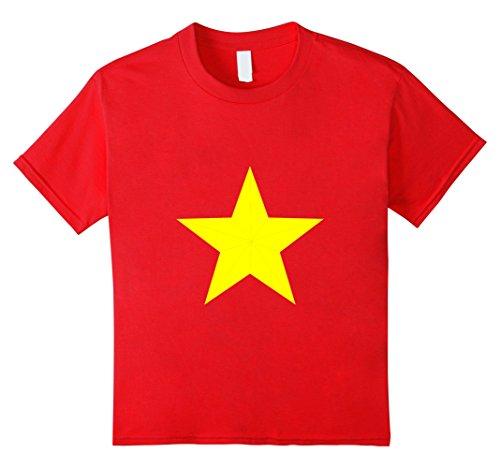 Steven Universe Halloween Costumes (Kids Premium Cosplay Universe Star T shirt 1v 12 Red)