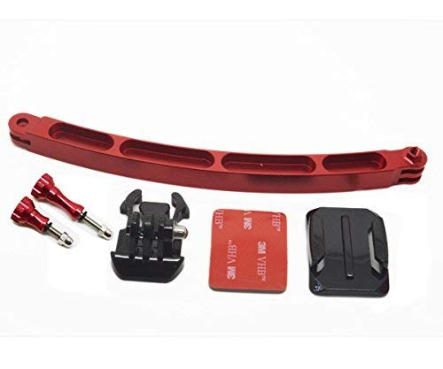 ProGear Red High Grade Aluminum Extension Arm Mount Bundle For GoPro Hero 4/3+/3/2/1 Assorted Colors [並行輸入品]   B07551XVM9