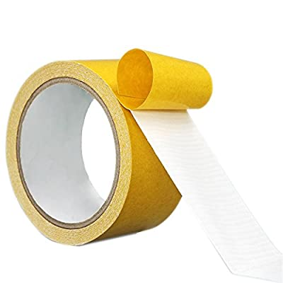 Carpet Tape ,Ansoon Double Sided Tape, 2 Inch x 21.8 Yards Anti Slip Double Stick Tape For Rugs, Mats, Pads