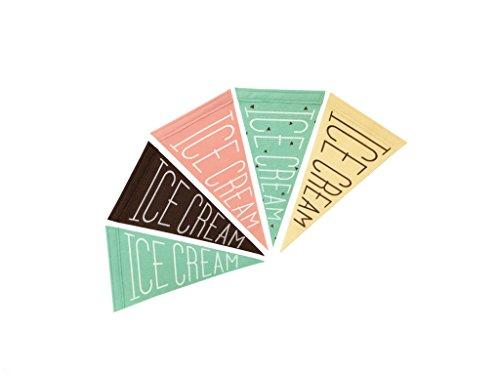 Felt Premium Pennant (Ice Cream Pennant)