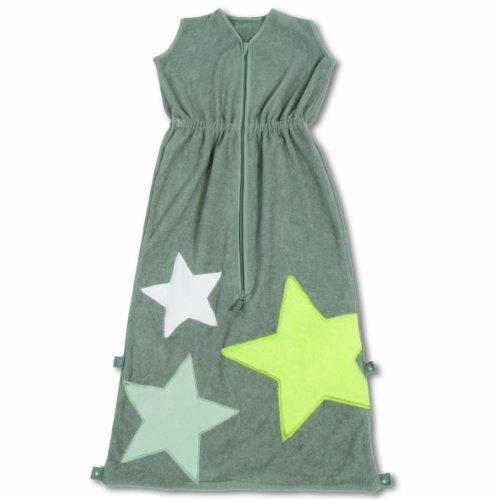 Baby Boum Superstar design cotton based terry Sleeping Bag 1 tog (Pingu Grey, 12-36 months) by Little Helper