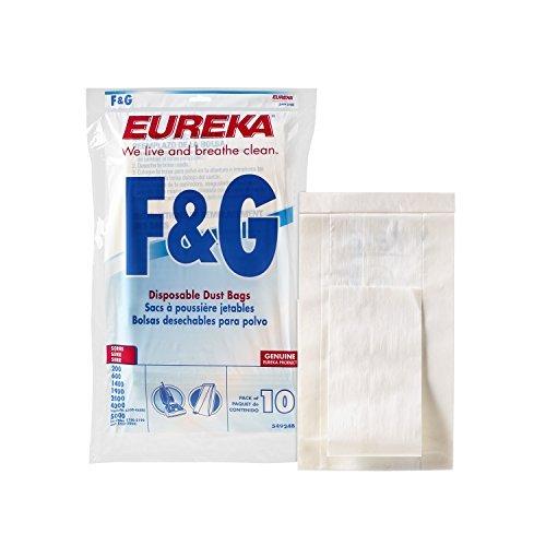 Genuine Eureka F&G Vacuum Bag 54924B - 10 bags # 54924B-10