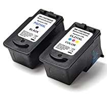 2 PK SaveOnMany ® Canon PG-210XL PG210XL / CL-211XL CL211XL (1* Black & 1* Color) Compatible Remanufactured PG210 CL211 Extra Yield PG-210 CL-211 XL Ink Cartridge For Canon PIXMA ip2702 MP230 MP270 MP495 IP2700 MP240 MP250 MP280 MP480 MP490 MP495 MX320 MX330 MX340 MX350 MX360 MX410 MX420