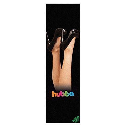 HUBBA WHEELS Skateboard Griptape by MOB HEELS SHEET (Skateboarding Hubba)