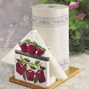 New Apple 3-D Paper Towel & Napkin Holder