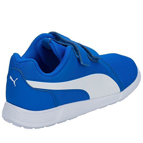 Puma St Trainer Evo V Inf Unisex-Kinder Low-Top Blau