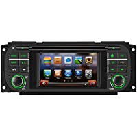 Koolertron For 1999 2000 2001 2002 2003 2004 Jeep Grand Cherokee, Dodge, Chrysler Car DVD Player with in-dash Navigation System (OEM Factory Style,Free Maps)