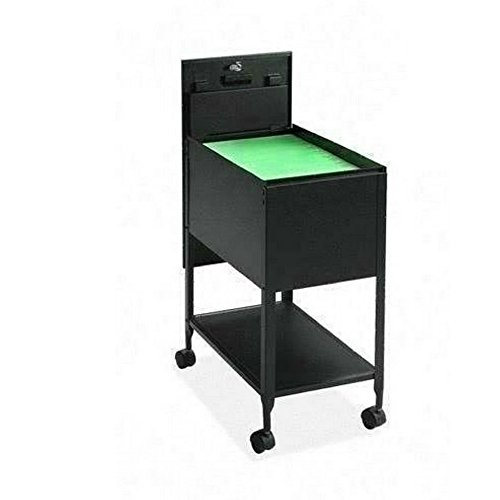 Portable File Cabinet On Wheels Office Cart Utility Portable Multipurpose Metal Frame Rolling Envelopes Files Rack On Wheels Home Office Indoor Mobile Storage Furniture & E book by Easy 2 Find.