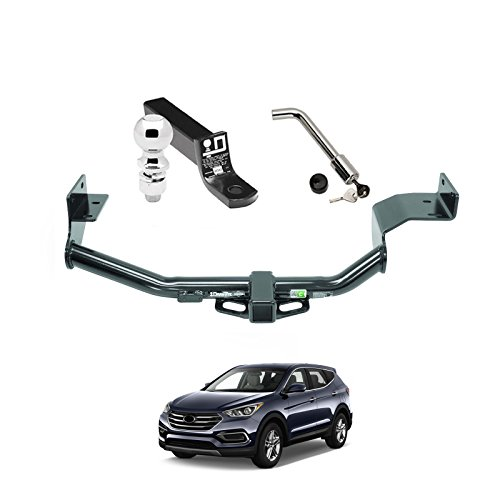 Towing Kit (Draw-Tite Frame + Ball Mount + Hitch) for 2015-2018 Hyundai Santa Fe by Fenza