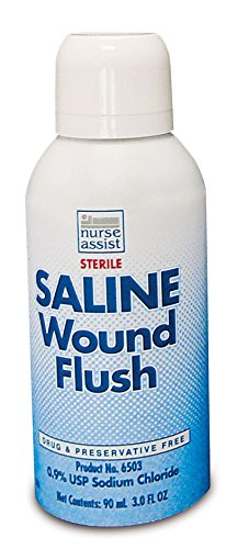 Nurses Assist (Sterile Saline Wound Flush By Nurse)