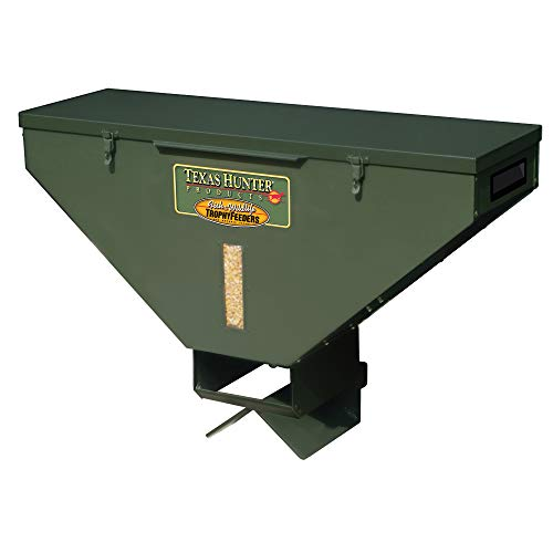 Texas Hunter 100lb Capacity Road Feeder - Model RF100 (Best Deer Feeder Remote)
