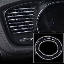 3M X 6Mm Black U Style Flex Trim Moulding For Interior Edge Vent Grille Panel for Volkswagen Beetle