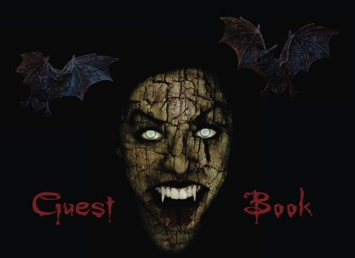 (Halloween Guestbook: Scary Themed Halloween Party Guest Sign in Book, Vampire Theme (Halloween Themed Guest Book) (Volume)