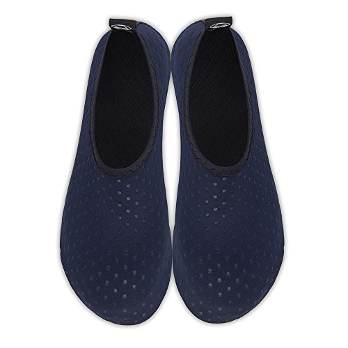 Quick Barefoot Dark Shoes Dry Exercise Womens Beach Dots Mens Socks Kids Surf Swim and Blue Aqua Water for Yoga I0XaYq