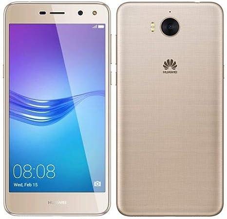 Huawei Y5 2017, 4G, 16Gb, 2Gb Ram, Dual Sim, Gold: Amazon.es ...