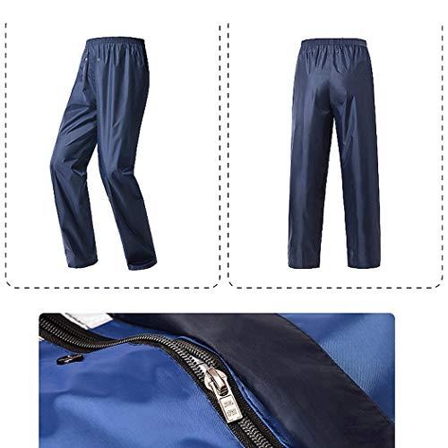 colore Tuta Impermeabile Xxl Ciclismo C Pantaloni A Impermeabili Pioggia Xjlg Impermeabili Da giacca Dimensioni qzBB0wU