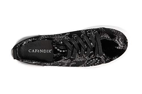 Noir Cafè Nero 010 Jde921 Sneakers Velves Brodes d8awp8qR