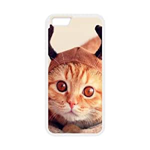 Christmas Cat iPhone 6 4.7 Inch Phone Case White as a gift H6983355