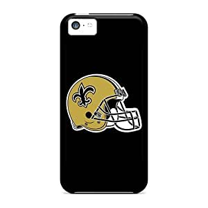 TYH - Excellent Iphone 5c Case Tpu Cover Back Skin Protector New Orleans Saints ending phone case