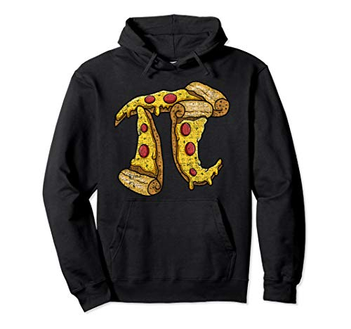 (Pi Day Hoodie kids Pizza Pi Funny Math Food 3.14 Mens Womens)