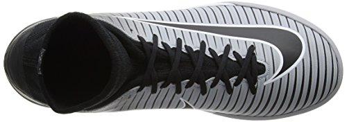 Nike Jr Mercurialx Proximo Ii Ic, Botas de Fútbol Unisex Niños Negro (Black/black-hyper Grape-wolf Grey-pure P)