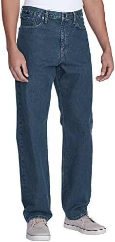 Eddie Bauer Men's Traditional Fit Essential Jeans