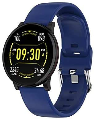 Smart Watch Men Waterproof Ip67 Blood Pressure Monitoring Full Round Touch Screen Multi Sport Modes For Apple Android…