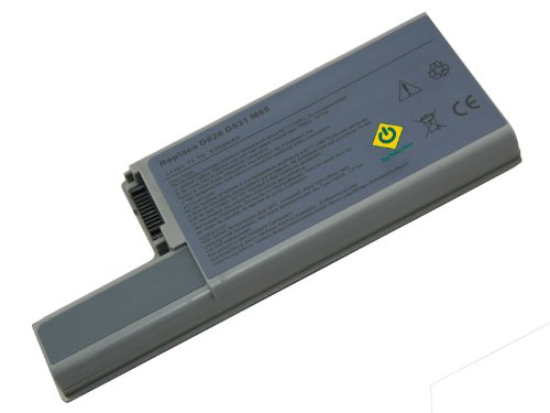 Bay Valley Parts 6-Cell 11.1V 5200mAh New Replacement Laptop Battery forDell wn979 DF 192 Latitude d531 d820 d830 ()