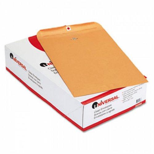 (Kraft Clasp Envelope, Side Seam, 28lb, 10 x 15, Light Brown, 100/Box)