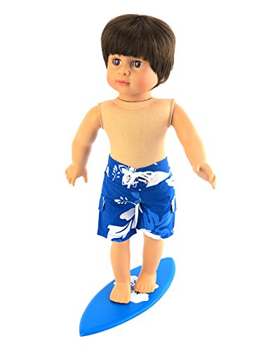 Mason The Surfer with Swim Trunks and Surfboard Includes 18