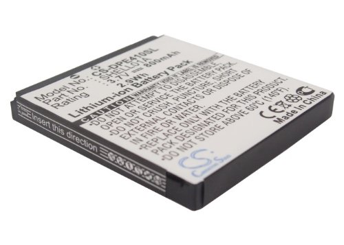 VINTRONS Replacement Battery For DORO Care Clamshell, SHELL01A (800mAh/2.96Wh),