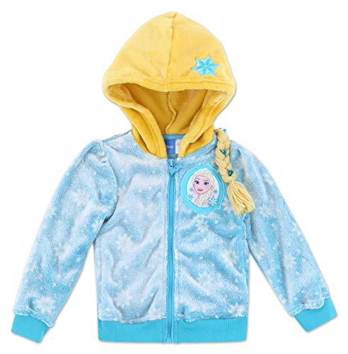 Dreamwave Toddler Girl Frozen Fleece Jacket Sweatshirt 5T ()
