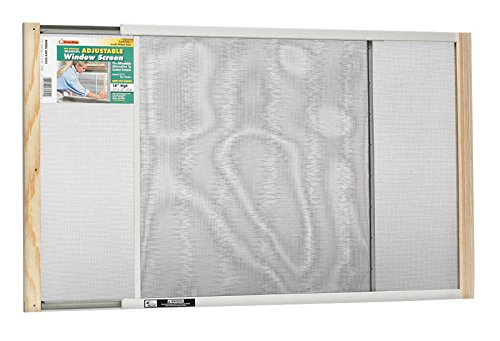 Frost King WB Marvin AWS1845 Adjustable Window Screen, 18in High x Fits 25-45in Wide