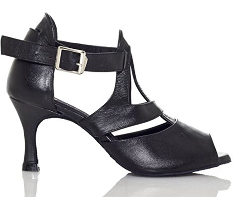 Joymod Black MGM Donna e Jazz EU Moderno Heel 7 5cm Nero 35 adrdTq