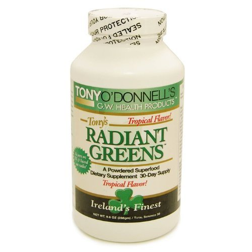 Radiant Greens Tropical by Tony O'Donnell – 9.6 oz/30 Servings