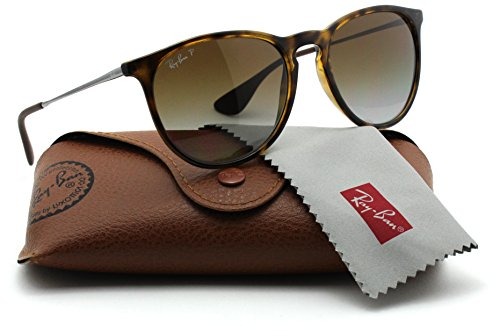 Ray-Ban RB4171 710/T5 Erica Tortoise Frame / Polarized Brown Gradient - Ban Tortoise Ray