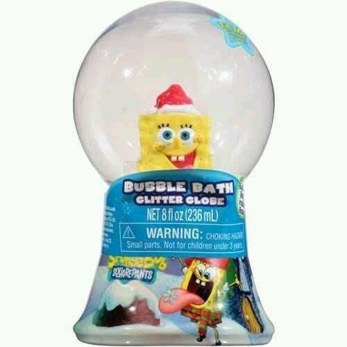 - Spongebob Squarepants Glitter Globe