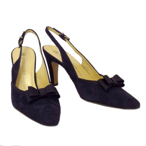 Peter En Slingback Tanina Notte Chaussures Marine Kaiser Daim Suede Mesdames xqxgWvPpwH