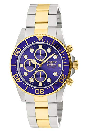 Invicta Men s 1773 Pro Diver 18k Gold Ion-Plating and Stainless Steel Watch