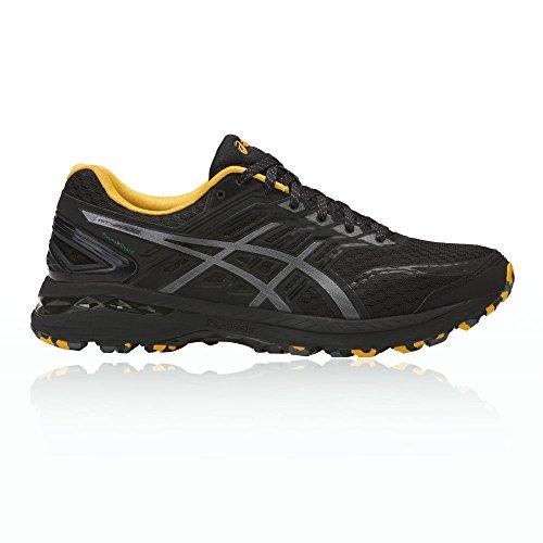 2000 5 Piste Chaussures De Sport Garde Plasma Asics Hommes, Noir Et Multicolore (noir, Argent 001)